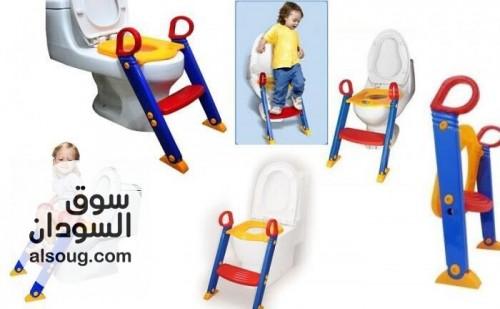 سِلم ومقعد حمام للأطفال   - صورة رقم