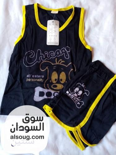 بجامات أطفال وارد دبي قطن - صورة رقم