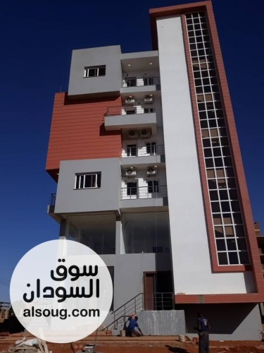 شقة دورين في حي الشاطئ شارع معرض الخرطوم الدولي  - صورة رقم