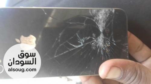 تلفون ايفون مستعمل الاستلام من السوق العربي - صورة رقم