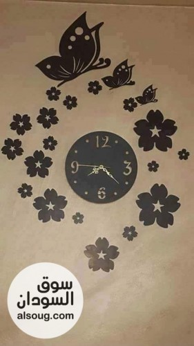 ساعات خشب ديكور ظريف لبيتك - صورة رقم