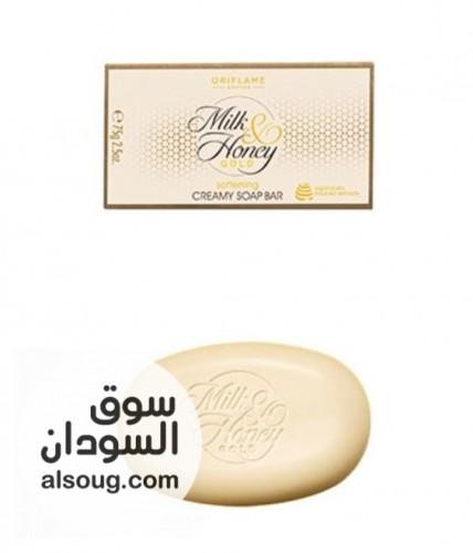 مجموعة الحليب والعسل  لجسم فاتح ناعم موحد عيشى الرفاهيه - صورة رقم