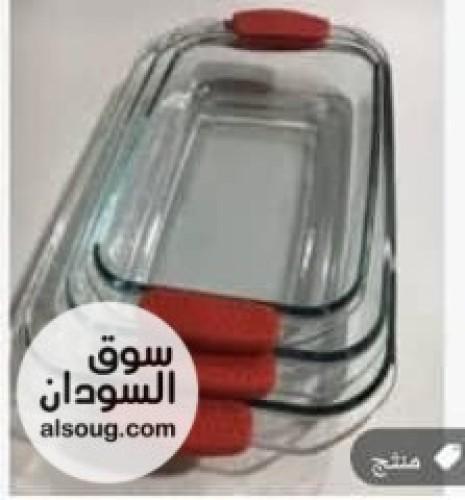 صواني فرن بايركس متوفره شكلين مستطيل وبيضاوي - صورة رقم