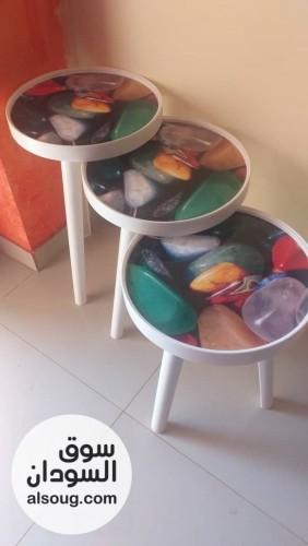 ترابيز بلاستيكية متينه  - صورة رقم