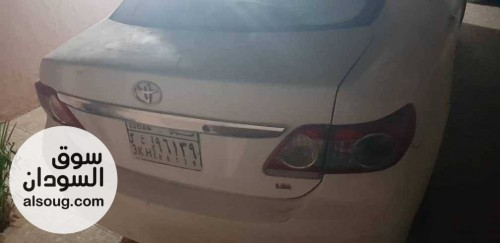 للبيع سيارة كوريلا بيضاء مرخصا و مؤمنة - صورة رقم