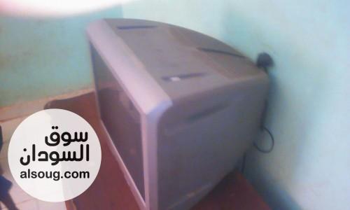 تلفزيون سوني ٢١بوصة شبه جديد غرض البيع عدم الاستخدام - صورة رقم