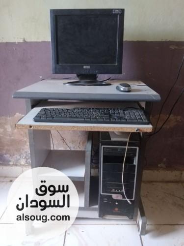 جهاز كمبيوتر رام3 غيغا + طربيزة - صورة رقم