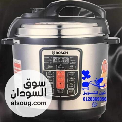 حلة الضغط الكهربائيه ماركة ٦لتر - صورة رقم