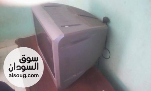 تلفزيون سوني ٢١بوصة شغال تمام شبه جديد غرض البيع عدم الإستخدام وبنتفق - صورة رقم
