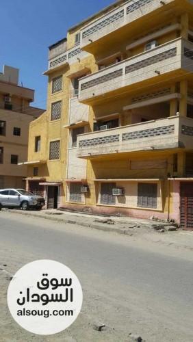 عماره من3طوابق بورتسودان حي دبايوا - صورة رقم