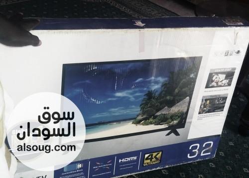 شاشة smart) اسمارت مقاس 32بوصة جديد من الكرتون واردة ليبيا - صورة رقم