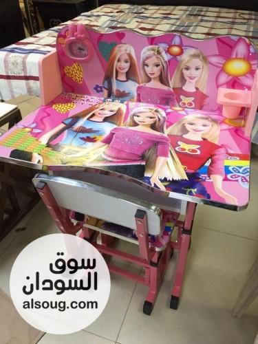 مكاتب مزاكره للاطفال اشكال والوان روعه - صورة رقم
