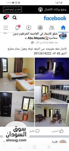 للاجار شقه مفروشه حى النزهه غرفه وهول حمام مطبخ الشهر - صورة رقم