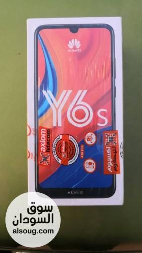 للبيع المستعجل تلفون هواوي Y6s - صورة رقم