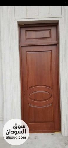 أبواب خشب تركية موسكي مضغوط مقاسات مختلفة - صورة رقم