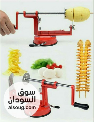 قطاعة بطاطس حلزوني - صورة رقم