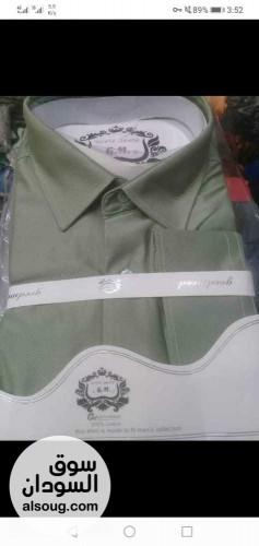 القميص الخامه قطن بالنسبه ميه ف الميه - صورة رقم