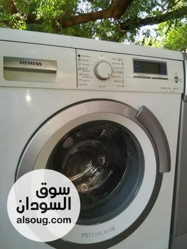 غسالة سمينس شبه جديدة وارد دبي - صورة رقم